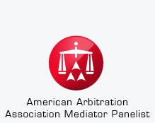 American Arbitration Association Mediator Panelist logo